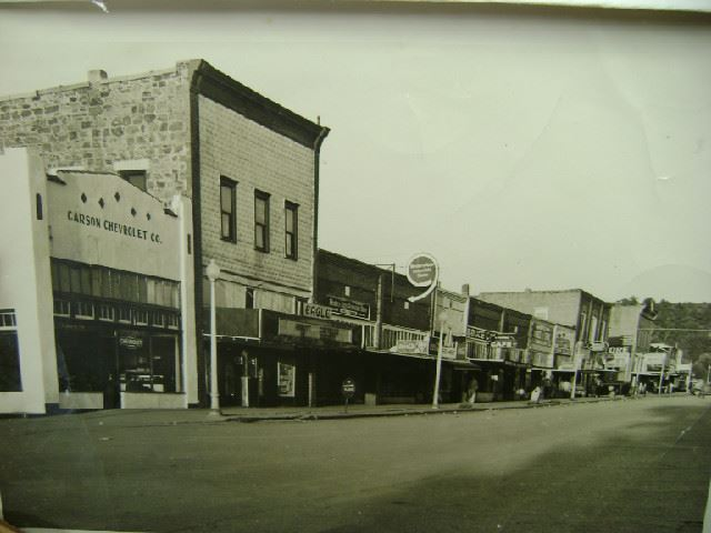 Old downtown